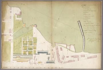 Troisième Palais de l'Intendant - 1739