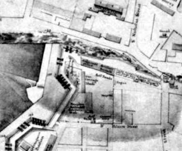 Plan de 1816 - palais de l'intendant
