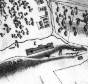 Premier palais de l'intendant, 1685