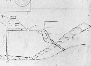 Terrain face au fleuve au pied du cap, 1660