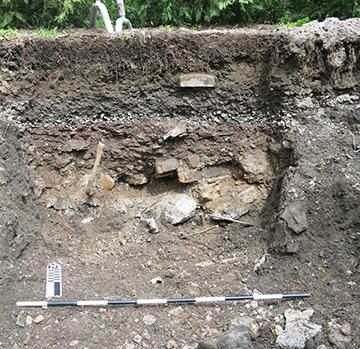 Exemple de couches stratigraphiques