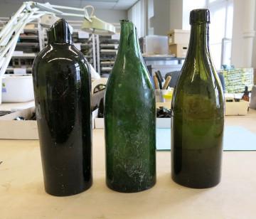 Différents types de bouteilles