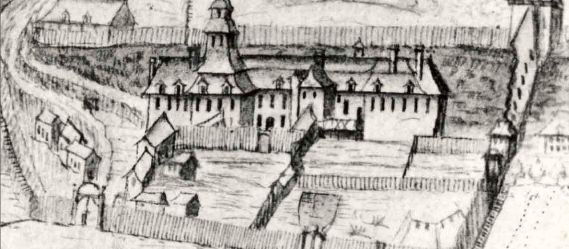Premier palais de l'Intendant